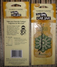 12 new yankee candle classic car jar air freshener christmas cookie scen... - $26.00