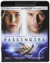 Passengers [4K Ultra HD + 3D + Blu-ray, 2017]