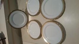 "Lot of 5 Aynsley Elizabeth #7947 Bread & Butter 6 1/4"" Plate Exce - $43.55"