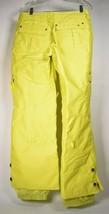Burton Womens Dryride Ski Snowboard Pants Yellow S - $39.60