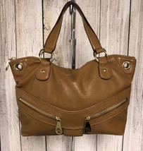 MICHAEL Michael Kors Brown Leather Satchel - $63.27