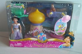 Disney Aladdin Magic Carpet PLAYSET Enchanted Playground NIB Jasmine Doll - $19.99