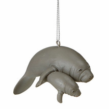 Manatee & Baby Ornament - $12.95