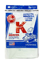 Genuine Hoover Filter Bags K Type (3-Pack) 4010028K Canister Cleaners - $7.95