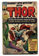 Journey Into Mystery #110 Comic Book 1964-THOR-MR HYDE-COBRA-G/VG - $50.44