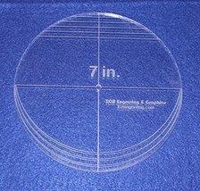 "7"" Multi Circle - 1/4"" thick - $16.99"