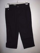 Calvin Klein Jeans Women Capris Pants BNWT Black&Khaki 100% Authentic - $18.99