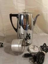 Vintage Sunbeam 10 Cup Automatic Percolator Coffee Pot Maker Model AP10 - $29.50