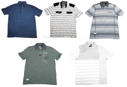 Point Zero Black Label Men's Polo Shirt Short Sleeve Semi-Fit NEW Licensed
