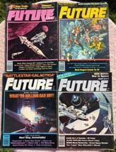 Vintage FUTURE LIFE Magazines set of 4 Star Trek Battlestar Galactica Bu... - $9.87