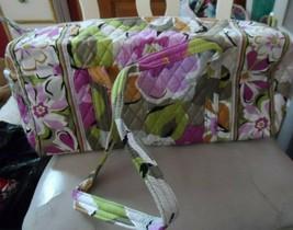 Vera bradley small duffel bag in retired Portobello Road Pattern - $52.00