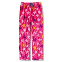 XS 4-5 Girl's Fleece Pants Sleep Lounge Pajama Sleepwear Fun STARS Print
