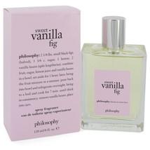 Sweet Vanilla Fig by Philosophy Eau De Toilette Spray 4 oz for Women #54... - $52.07