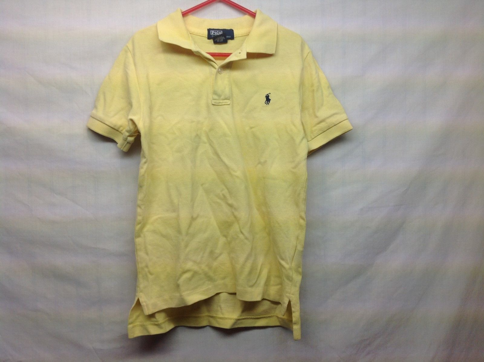 POLO by Ralph Lauren Boys Yellow POLO Shirt Sz 7