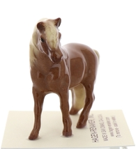 Hagen-Renaker Miniature Ceramic Horse Figurine Chestnut Shetland Pony Stallion image 2