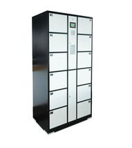 Metal Storage Locker Computer Control Digital Lock Public Locker Private... - $858.89
