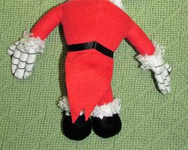 """DISNEY KCARE JACK SKELLINGTON SANTA CLAUS PLUSH NIGHTMARE BEFORE CHRISTMAS 9"""" image 4"""