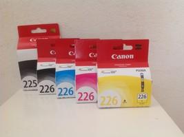 CANON PGI-225 Black CLI-226 B/C/M/Y Ink Cartridges, Genuine, 5-Pack - $51.99
