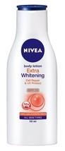 Nivea Body Extra Whitening Body Lotion Cell Repair & UV Protect SPF15 -Free Ship - $14.22