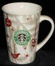 2010 Starbucks HOLIDAY DESIGN 10 oz Handled Mug - $14.84