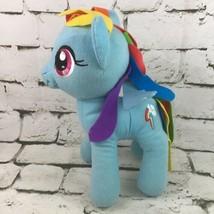 "My Little Pony 12"" Rainbow Dash Plush Felt Hair Stuffed Animal Soft Toy ... - $14.84"