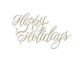 Spellbinders Hot Foil Happy Holidays Foil Transfer Letterplate #GLP-068 image 2