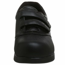 Drew Women's Black Calf Orthopedic Walking Shoes Paradise II Slip-on 10.5 W US image 2