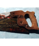 Hand Painted Handsaw Train With Oils Custom Ord... - $450.00