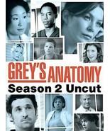 Greys Anatomy - Season 2: Uncut (DVD, 2006, 6-Disc Set) - $8.00