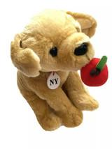 FAO Schwarz New York Big Apple Lab Dog Stuffed Animal NY Plush - $19.79
