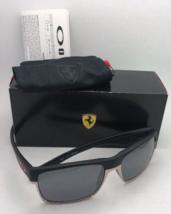 Nuovo Oakley Occhiali Edizione Speciale Scuderia Ferrari Twoface OO9189-20 Nero