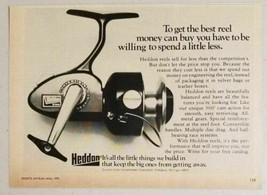 1973 Print Ad Heddon Convertible Fishing Reels Dowagiac,MI - $10.38