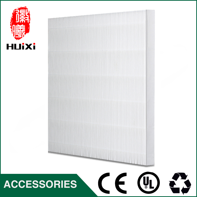 Hot sale diy white plicated filter screen for universal to filter pm2 5 and haze to
