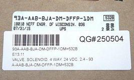 FACTORY SEALED MAC 93A-AAB-BJA-DM-DFFP-1DM SOLENOID VALVE, 93AAABBJADMDFFP1DM image 3