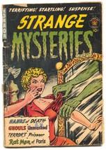 Strange Mysteries #4 1952- Rat Me of Paris- Headlight cover G- - $240.08