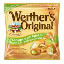NEW Werther's Original Caramel Apple Filled Hard Candy Creamy Center 2.4... - $5.29