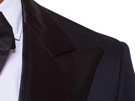 Mens Slimfit 2 Piece Premium Black Tuxedo image 3