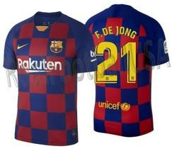 Nike Frenkie De Jong Fc Barcelona Home Jersey 2019/20 - $135.00