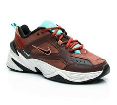 Nike M2K Tekno Mahogany Mink Black Womens Size 9 AO3108 200 Running Shoes - $84.95