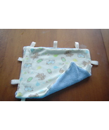 New Handcrafted Plush,Tag Mini Security Blanke... - $9.99