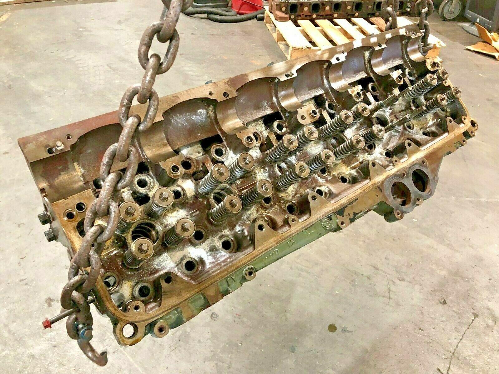 Detroit Series 60 14.0 Liter Diesel Engine Cylinder Head As Is OEM
