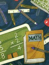 Fratello Men's School Days Teacher Math Ruler Composition Necktie Novelty image 3