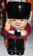 Vintage Staffordshire Toby Mini Pitcher Guardsman Hand Painted - $14.95