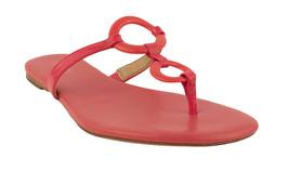 Michael Kors Women's Claudia Flat Thong Sandal-CR- 5.5 M - $54.43