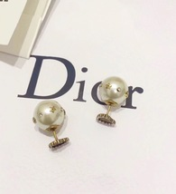 "Authentic Christian Dior Crystal Heart Tribal ""DIOR TRIBALES"" Earrings Gold image 4"