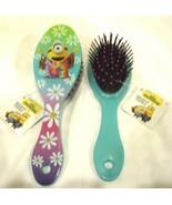 "Despicable Me Minions Stuart (Hippie Minion) 7"" Hair Brush-New!Minion Ha... - $11.87"