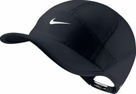 NEW! NIKE Women's DRI-FIT Featherlight 2.0 Adjustable Hat/Cap-Black 6139... - $94.04