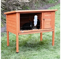 Natura One-Story Rabbit Hutch (Small) New, Pet Rabbit Cage, Small Animal Cage