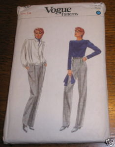 VOGUE ENSEMBLE PATTERN #8097 SZ 14 COMPLETE