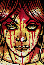Carrie original watercolor painting by Jason Goad - $75.00